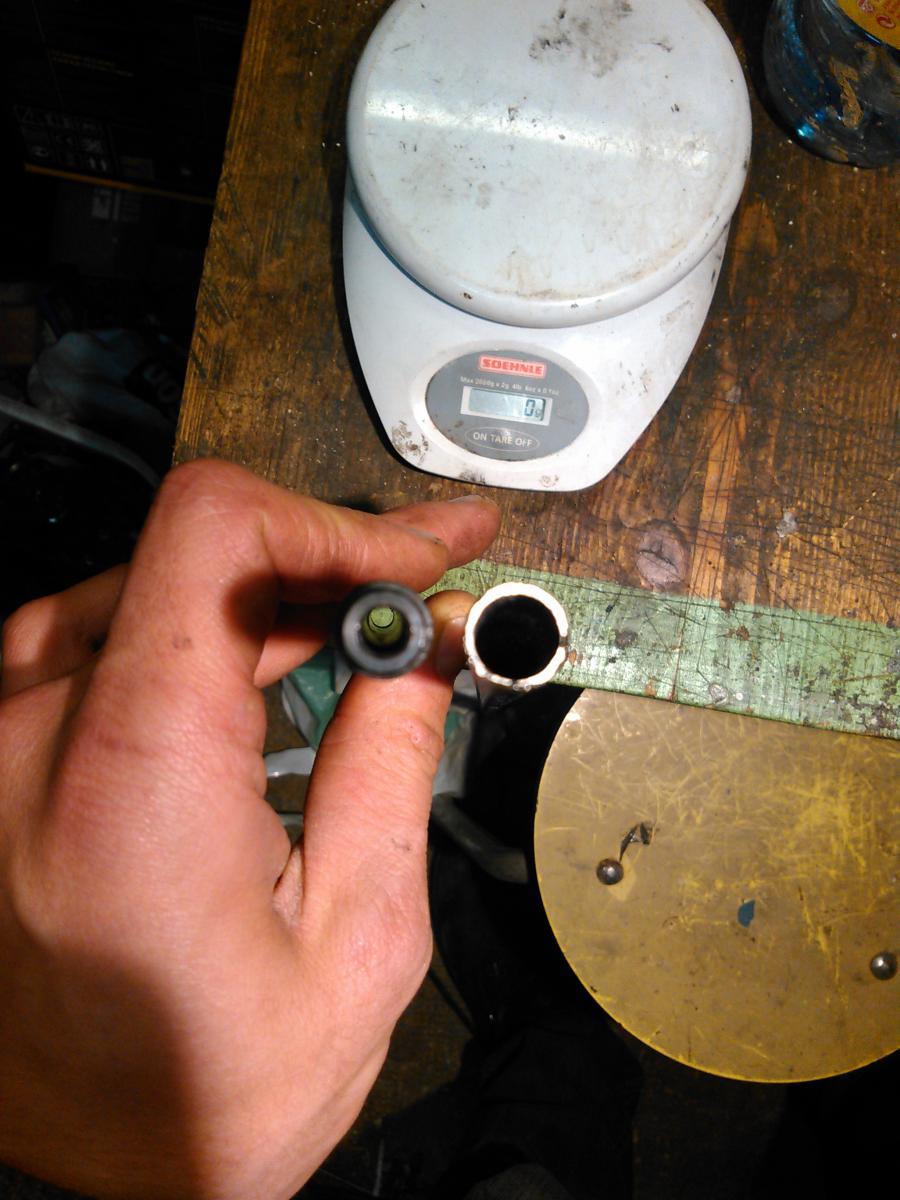 01 - tube alu pour remplacer le centre